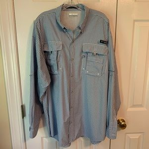 Columbia PFG Super Bahama Long Sleeve Sz XL
